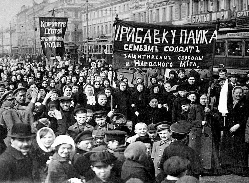 Las mujeres de 1917