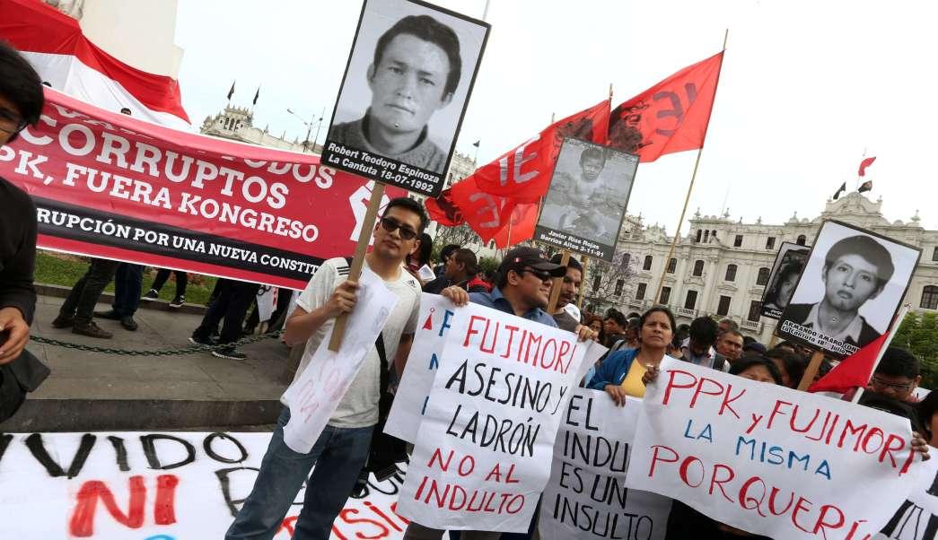 Detrás del indulto a Alberto Fujimori