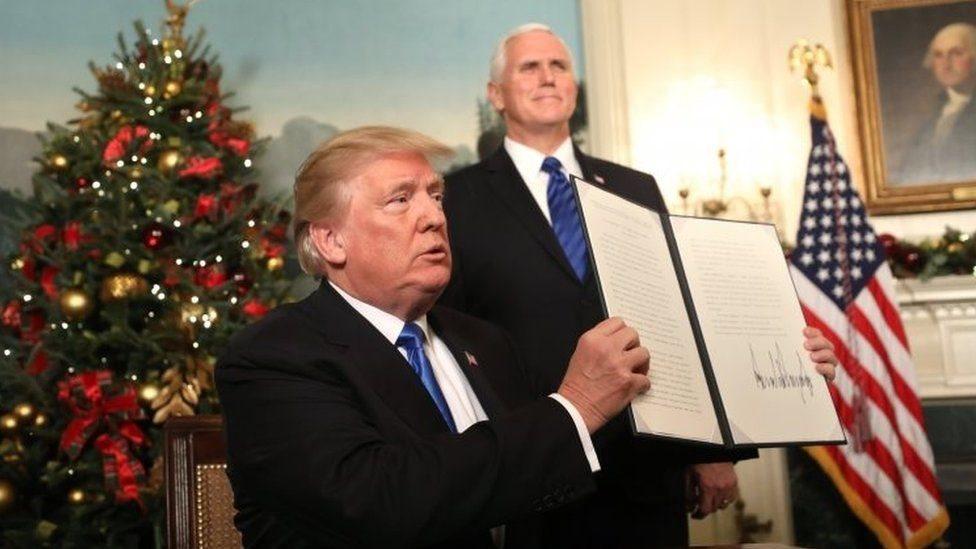 El reconocimiento de Jerusalén como capital de Israel por parte de Trump genera ira y protestas