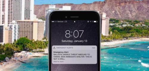 La alerta de misil en Hawái: treinta y ocho minutos de caos
