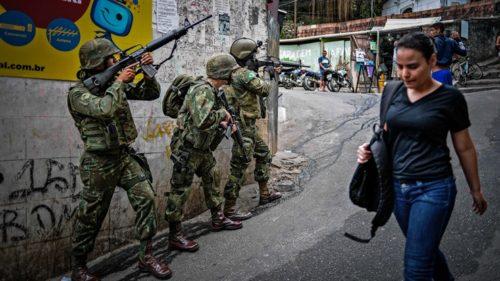 ocupación militar Río de Janeiro