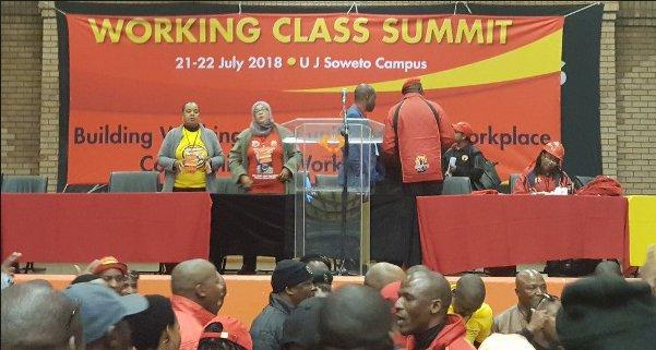 África del Sur: la clase obrera tiene que ser independiente