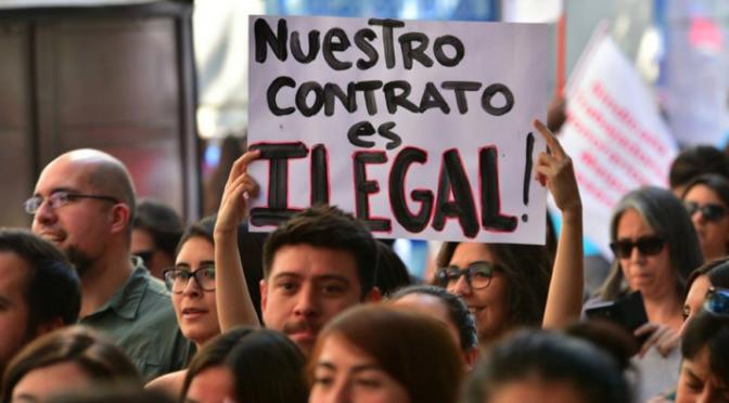 Despidos en el Estado: Hablan dos dirigentas sindicales de los trabajadores a honorarios