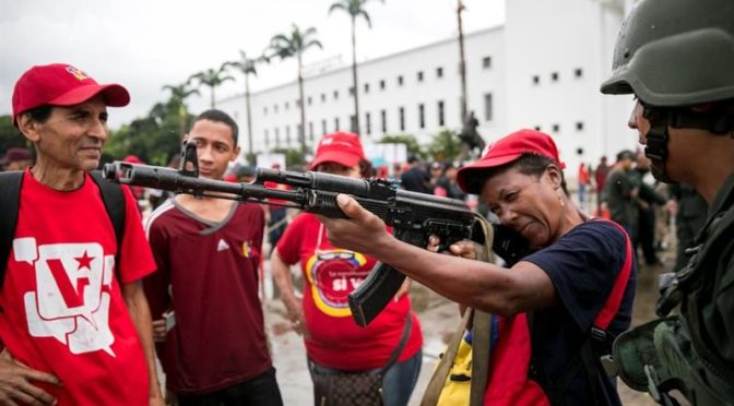 Fuera yanquis de Venezuela: por la defensa incondicional del pueblo venezolano