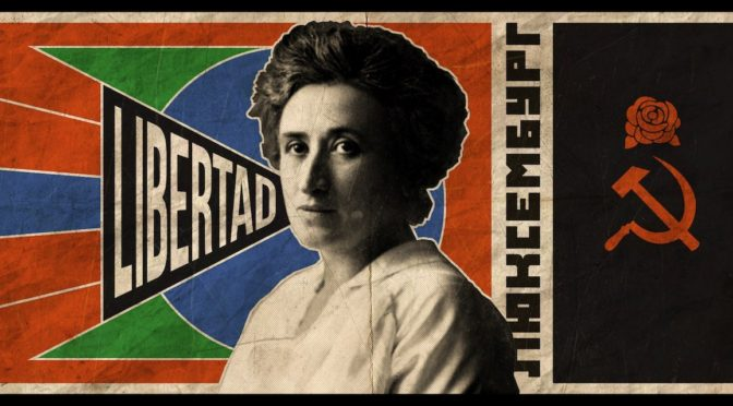 A los 100 años de su asesinato: Rosa roja, águila anticapitalista