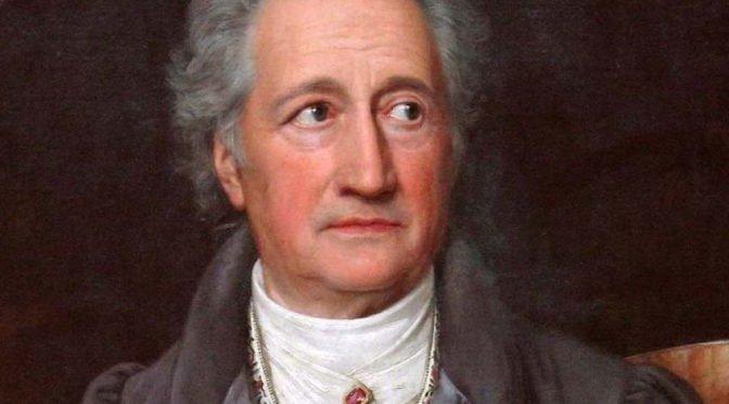Poema de Johann Wolfgang von Goethe: La fuerza de la costumbre