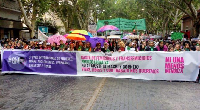 Mendoza, Argentina: gran movilización feminista