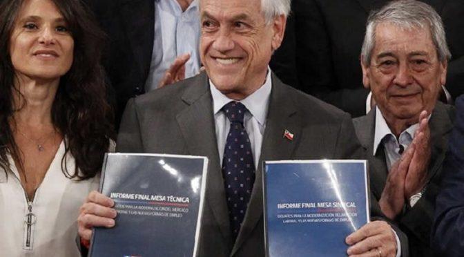 Minuta de la CUT contra el proyecto de flexibilización de jornada de Piñera