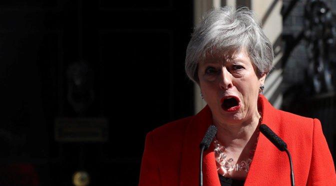 Gran Bretaña: Dimisión de Theresa May ¡Echemos al resto de los tories!
