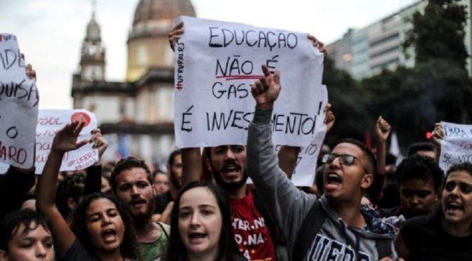 Brasil: el tsunami social contra los recortes en educación demuestra que Bolsonaro puede ser derribado