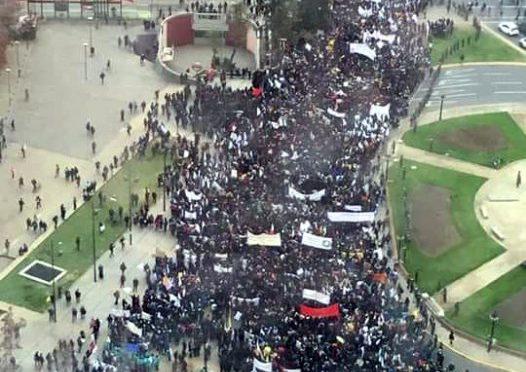 80 mil en  la marcha de profesores en paro indefinido: ¿Qué se viene para la próxima semana?
