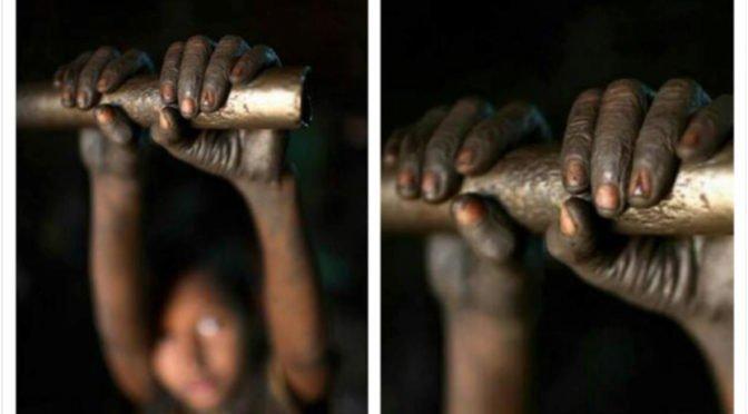 Barbarie capitalista: Niños de Balolé