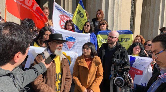#esmíodecidoyo: NO+AFP demanda devolución de fondos previsionales por quiebra del sistema