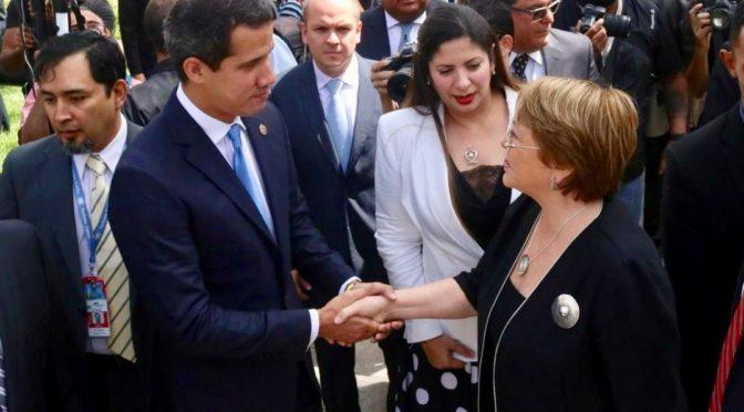 Michelle Bachelet y el imperio