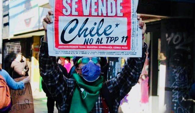 Plebiscito: medio millón de chilenos dijo NO al TPP11