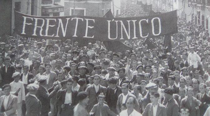 Internacional Comunista: tesis sobre el frente único