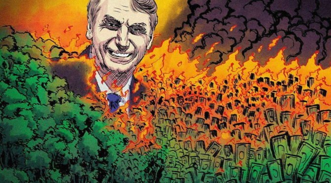 Bolsonaro contra la selva amazónica
