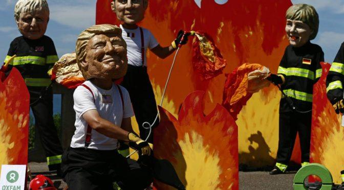 Las divisiones entre grandes potencias se amplían en la cumbre del G7
