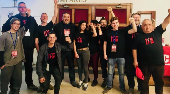 Grupo 1º de Mayo: «A LOS TRABAJADORES DEL  GRAN VALPARAÍSO»