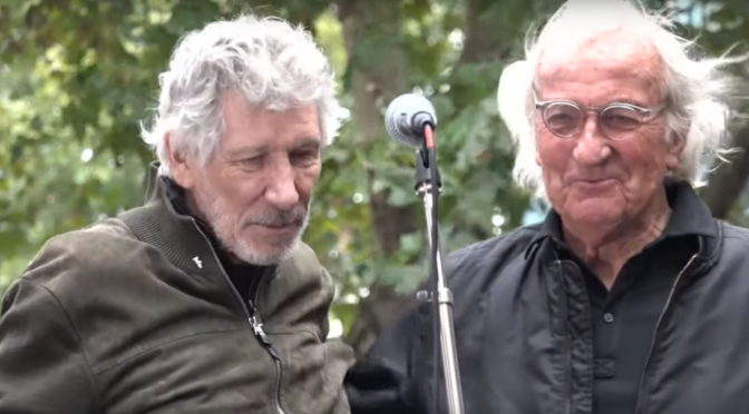 Roger Waters y John Pilger hacen una poderosa defensa de Julian Assange en Londres