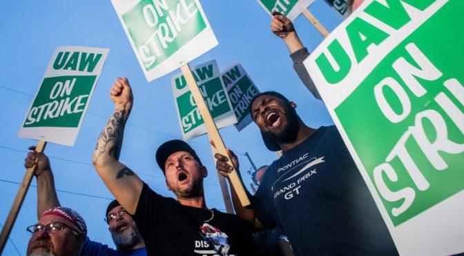 EEUU, los trabajadores en huelga de GM hicieron un llamamiento a una lucha global contra las compañías automotrices: «El capitalismo es el corazón del problema»: