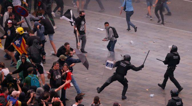 El encarcelamiento de nacionalistas catalanes: el Gobierno español construye un Estado policial