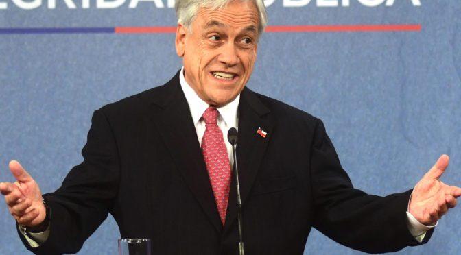 Piñera debe renunciar ahora, no más represión