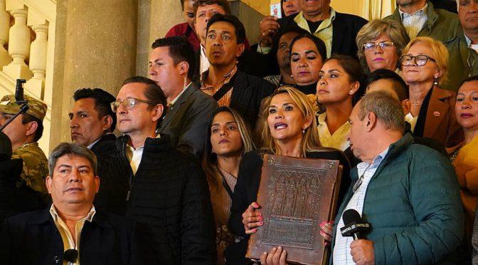 """Régimen golpista boliviano anuncia """"fase final de pacificación"""""""