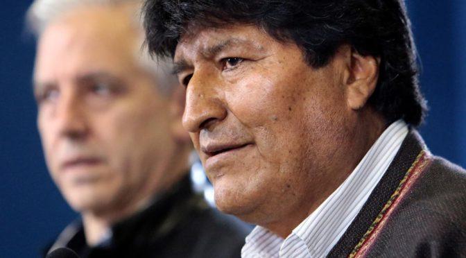 Bolivia y los organizadores de derrotas