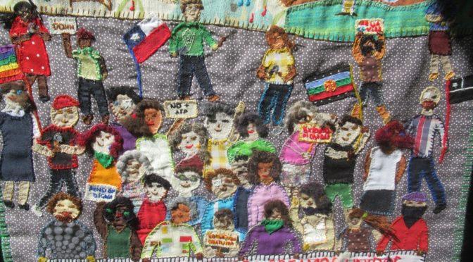 Arpilleras rebeldes: otra forma de arte y lucha popular