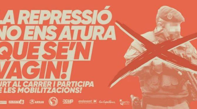 """Cataluña: la farsa de la """"Operación Judas"""" y el carácter del Estado"""