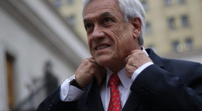 Comité de defensa DDHH y sindicales solicita se declare inhábil a Piñera