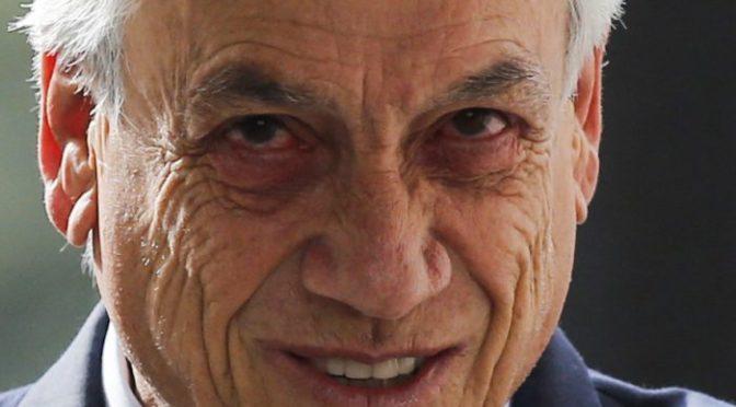 «Estamos en guerra»: la fugaz lucidez de Piñera