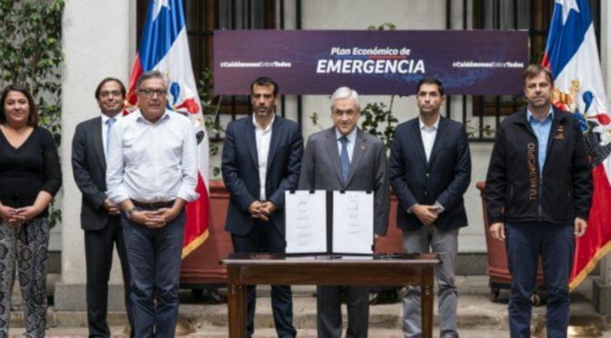 Plan de Piñera: salvataje empresarial, pandemia para el 99%.