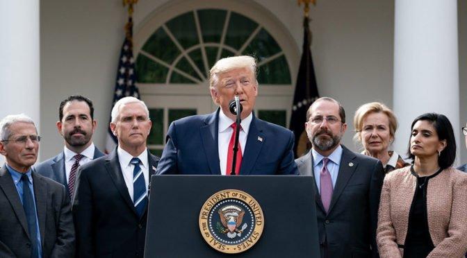 Trump y la pandemia: un arma de guerra