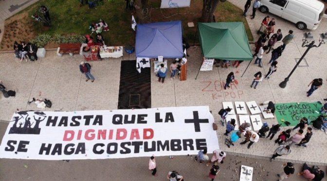 Brigada Cruz Negra de Temuco: de la lucha callejera al autocuidado popular