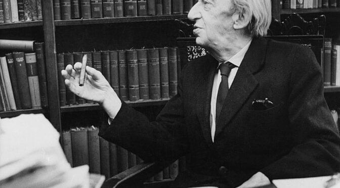 Perry Anderson entrevista a Georg Lukács (1971)