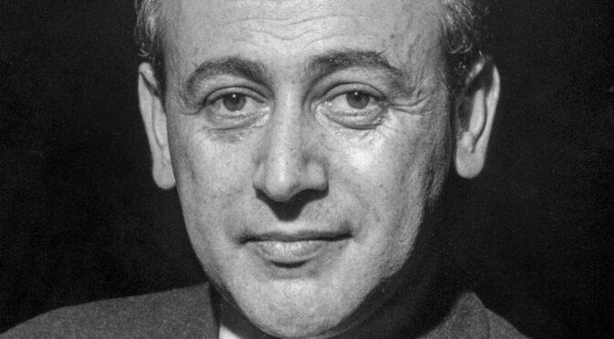 Paul Celan, el poeta que respondió con versos al horror del Holocausto