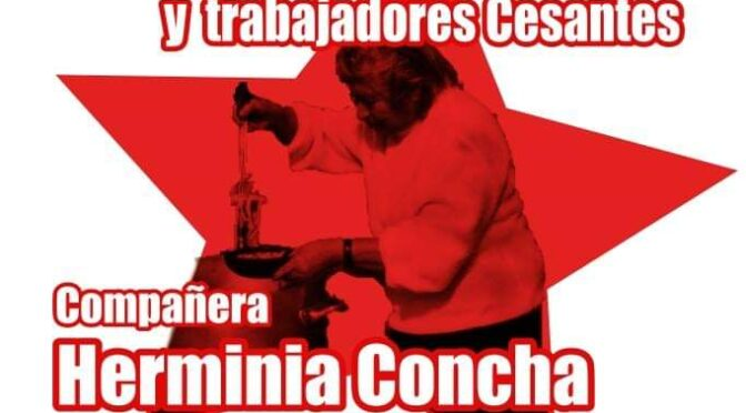 "En Santiago Norte únete al Comité de  Cesantes ""Herminia Concha""."