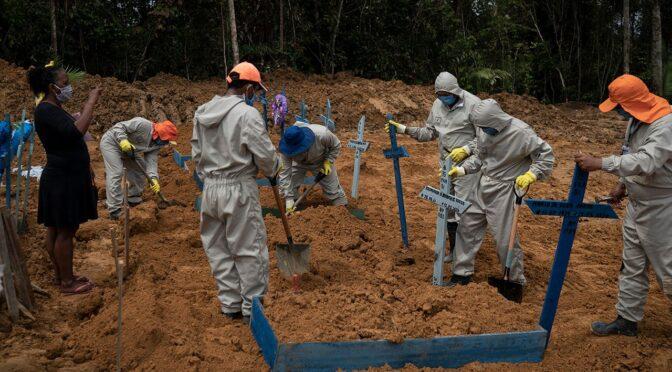 Latinoamérica emerge como nuevo epicentro COVID-19