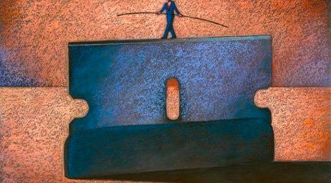 El capitalismo al filo de la navaja