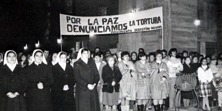 Protesta de Blanca
