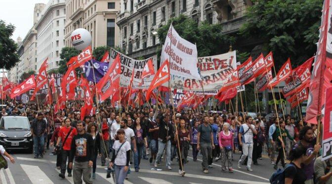Argentina: Carta Abierta al PTS, organizaciones de izquierda y militantes sin partido