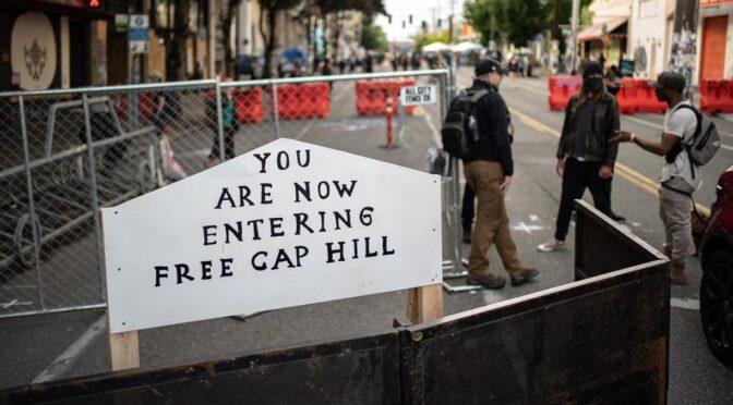 Seattle: ¿primer territorio liberado de la dictadura de Trump?