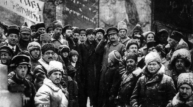 Octubre de 1917: el disparo de apertura de la revolución socialista mundial