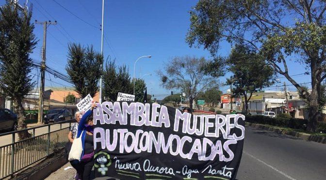 Asamblea Feminista Nueva Aurora-Agua Santa: pobladoras de pie