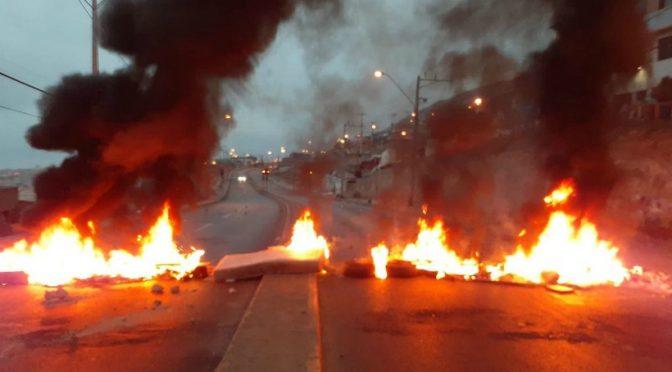 Ni los  helicópteros sobre las poblaciones lograron aplacar la protesta popular