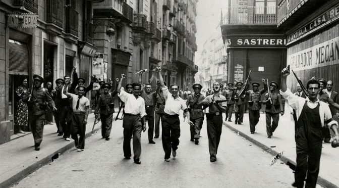 De Lluís Martí Bielsa: «La derrota del golpe militar fascista en barcelona