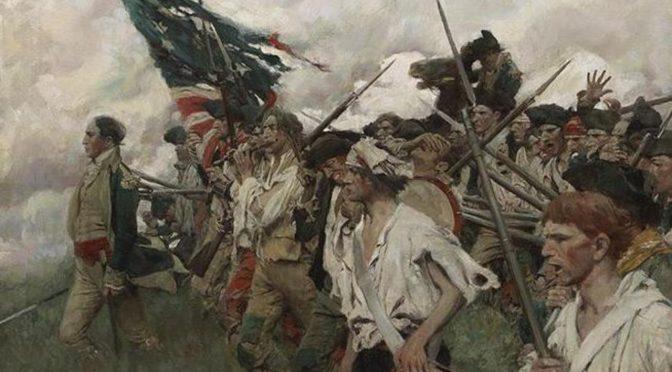 Las dos revoluciones estadounidenses en la historia mundial