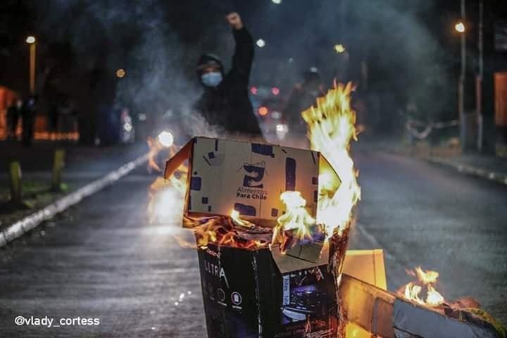 Protestas den Santiago